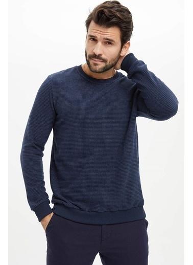 DeFacto Sweatshirt Lacivert